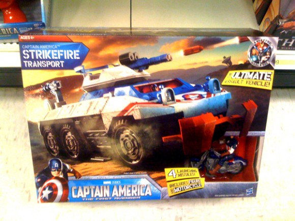 "Captain America Large Vehicle ""Strikefire Transport"""