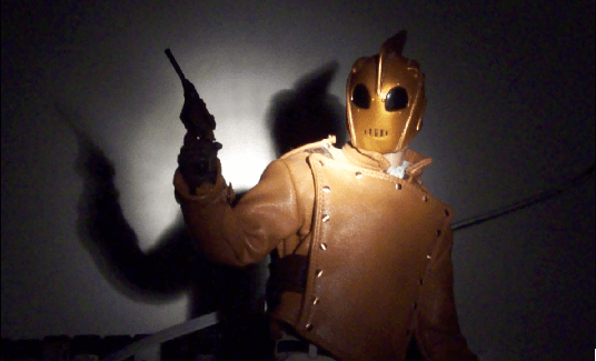 rocketeer 1/6 scale figure