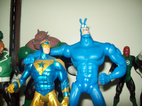 Tick and Booster Gold Figures