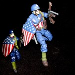 Marvel Legends WWII Cap and Marvel Universe WWII Captain America