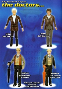DAPOL Doctor Who figures