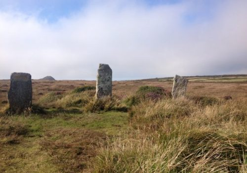 Stone circle on West Penwith in summer. Copyright Stephanie Boon, 2017. All rights reserved.