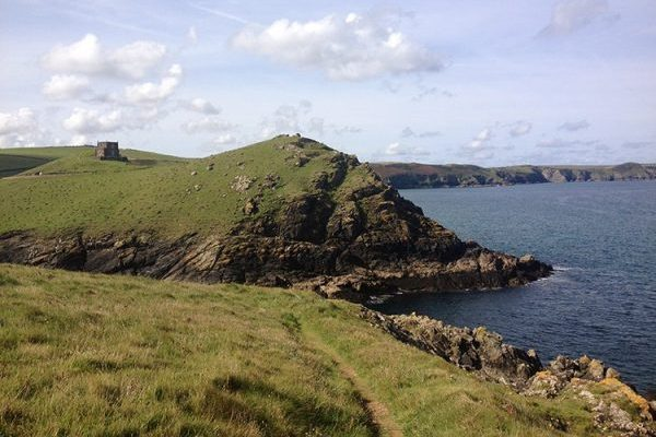 Cliff path on North Cornwall Coast, South West Coast Path. Copyright Stephanie Boon, 2017. All Rights Reserved.