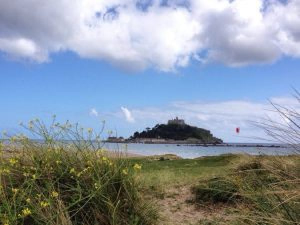 St Michael's Mount, Cornwall. South West Coast Path.