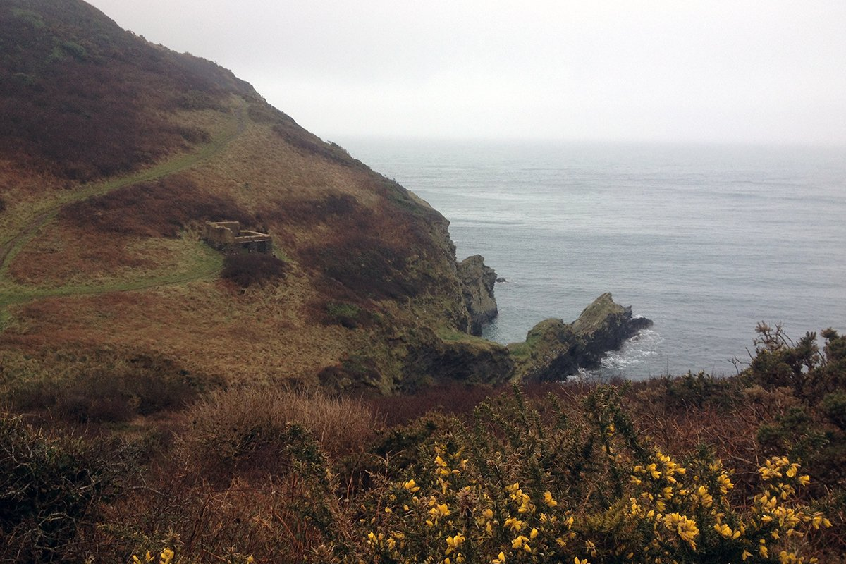South West Coast Path, Cornwall UK. Portscatho to Veryan. Copyright Stephanie Boon, 2018. All rights Reserved.