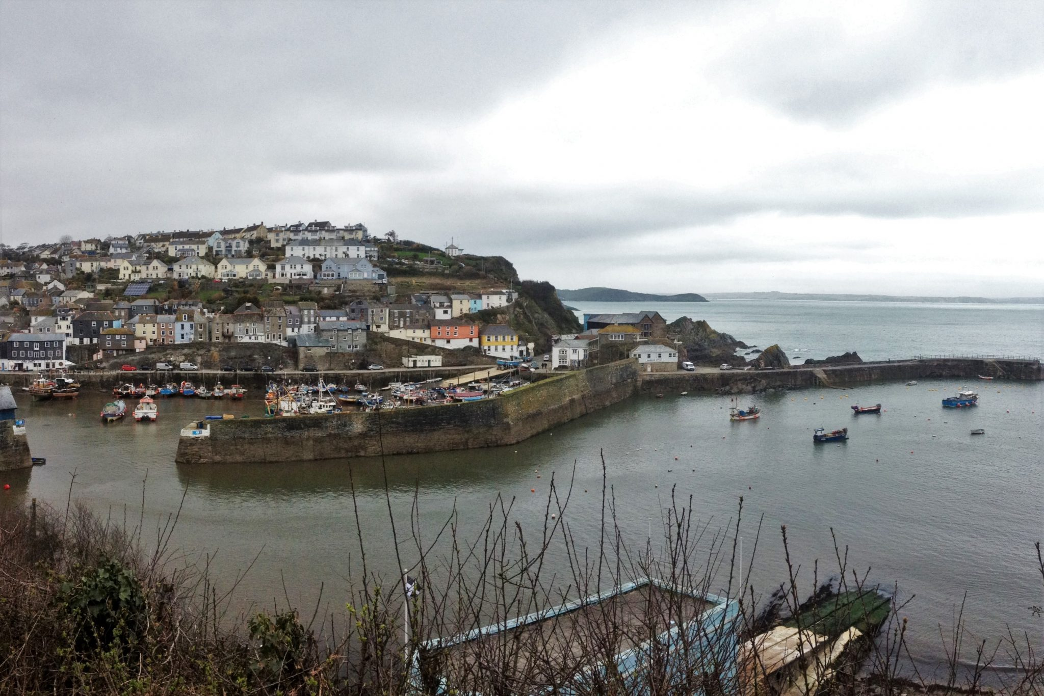 Mevagissey, South West Coast Path, Cornwall UK. Copyright Stephanie Boon, 2018. All rights Reserved.