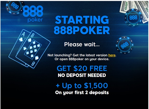 888 poker app- How to get started