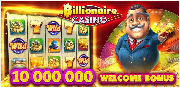 Billionaire slots welcome