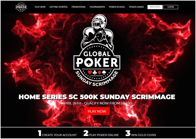 Global poker game app