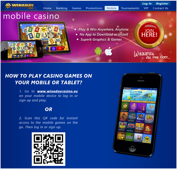 Win A Day Casino no deposit