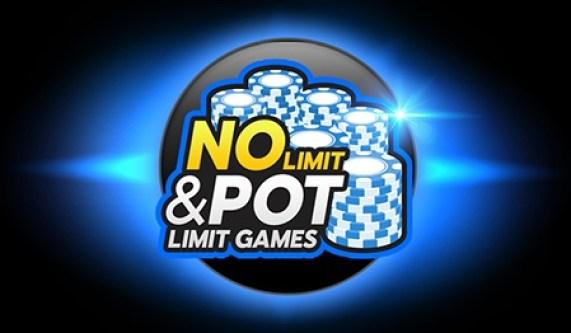 No limit and pot limit