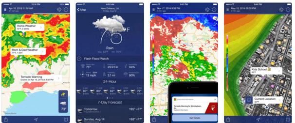 Noa Weather app