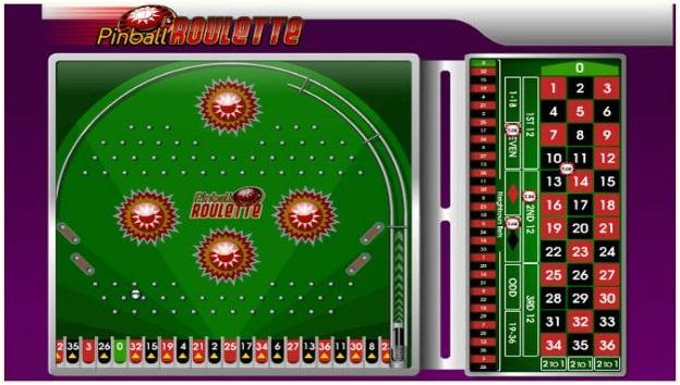 Pinball roulette app