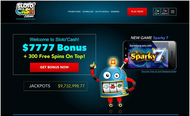 Sloto Cash casino Instant withdrawals