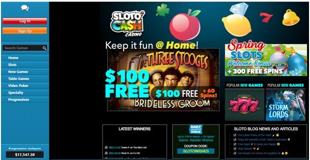 Slotocash casino app