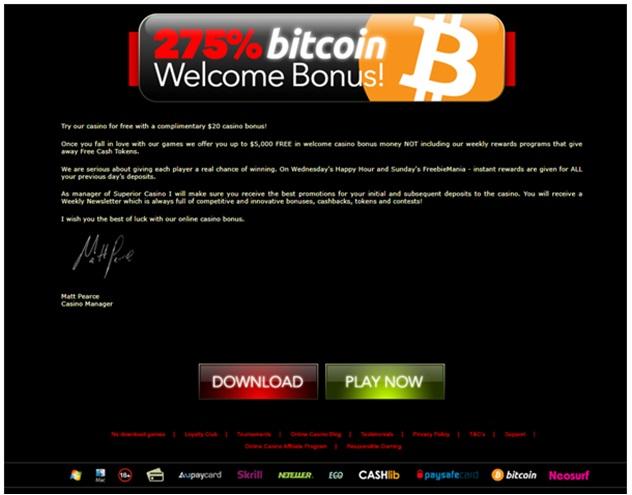 bitcoin mobile bonus
