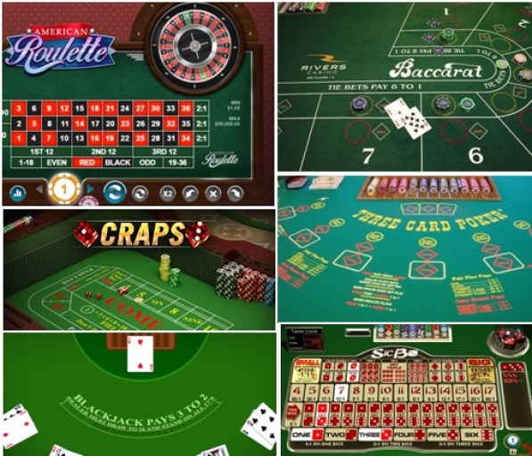 Table games at US online casinos