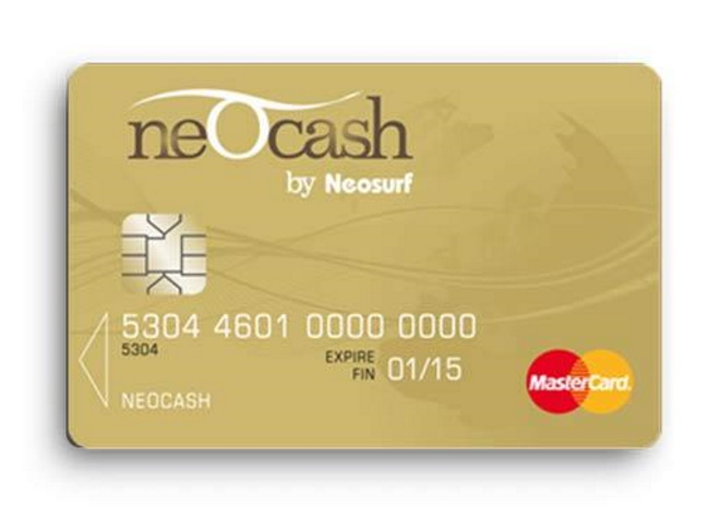 Types of Neosurf Cards