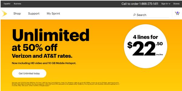 Verizon Unlimited plans
