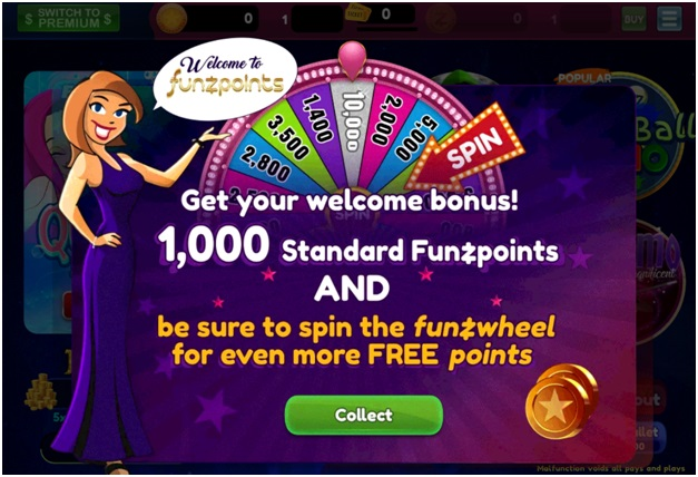 play at Funzpoints Casino to win real cash