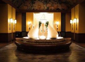 """Swan Hotel Fountain"" Orlando, 2017"