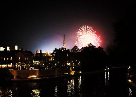 """""""Fireworks over Paris"""" Orlando, 2017"""