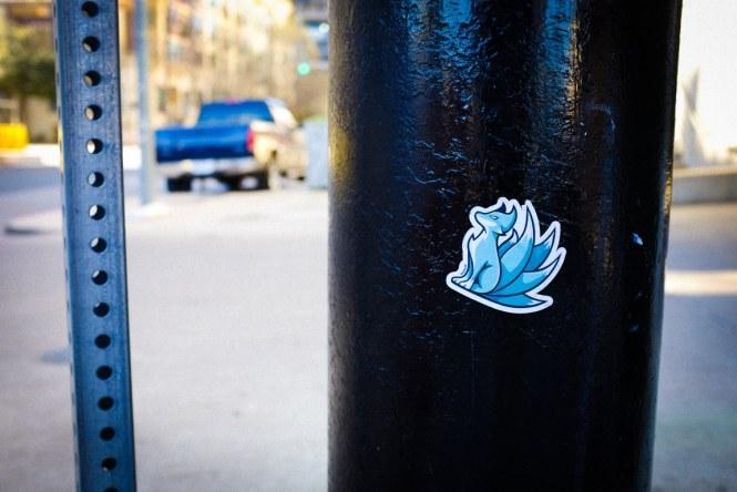 """""""Cute Sticker"""" Austin, 2017"""