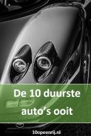 Top 10 duurste auto's ooit