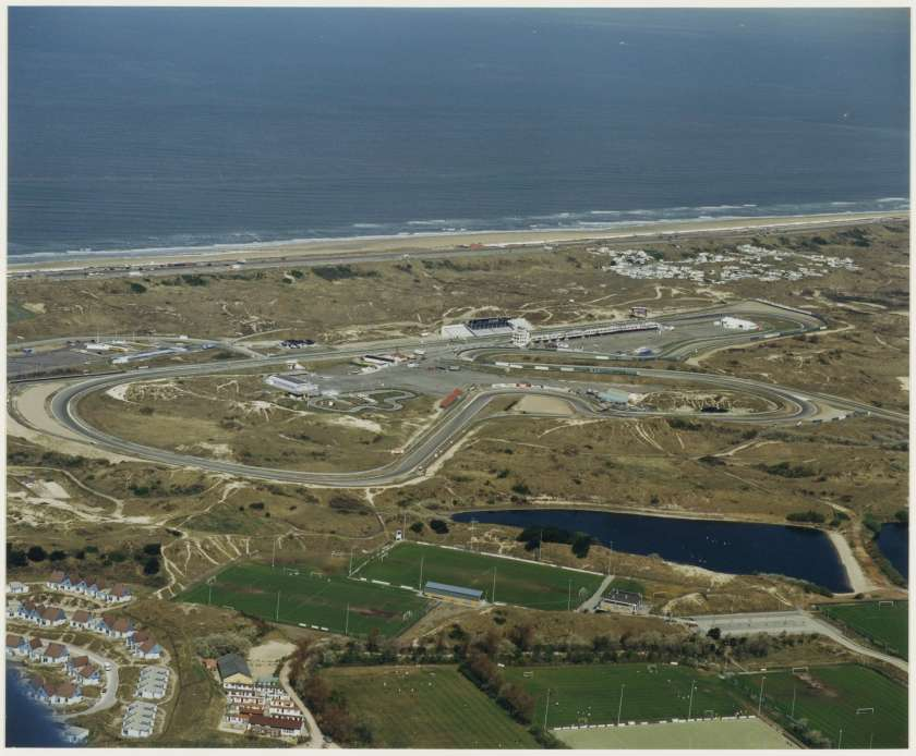 Luchtfoto circuit Zandvoort in 1997
