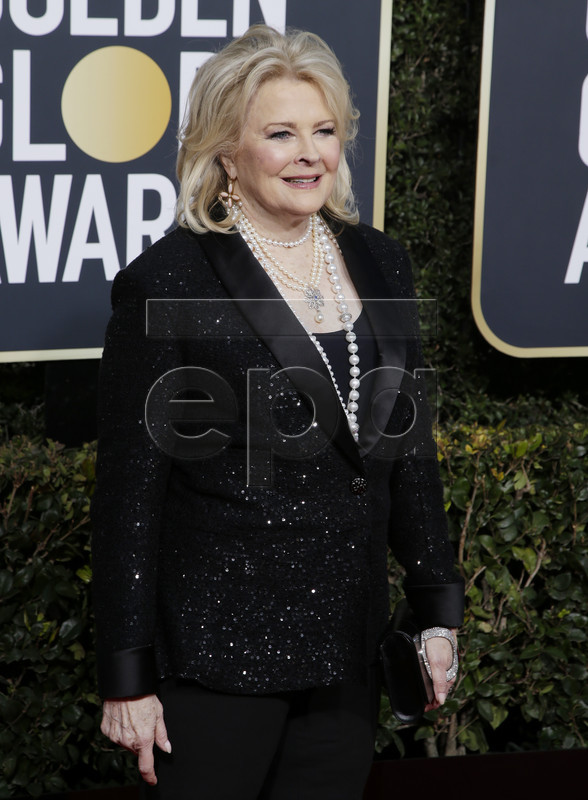 Candice Bergen arrives for the 76th annual Golden Globe Awards ceremony at the Beverly Hilton Hotel, in Beverly Hills, California, USA, 06 January 2019. EPA-EFE/MIKE NELSON