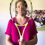 "Noah Rubin's ""Behind The Racquet"" • With • Miranda Hart 