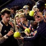 TennisBalls Photo Gallery Of Thiem, Tsitsipas, Federer, Mahut, Herbert, & Zverev At The Nitto ATP Finals