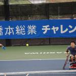 Tennis Wheelchair Players Team with able-bodied doubles Players • At Challenger in Japan • Taro Daniel • Shingo Kuneida Organize The Inception And Concept
