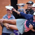 Italian Open Women's Singles Finals Tennis Trophy Gallery – Congrats Iga Swiatek!