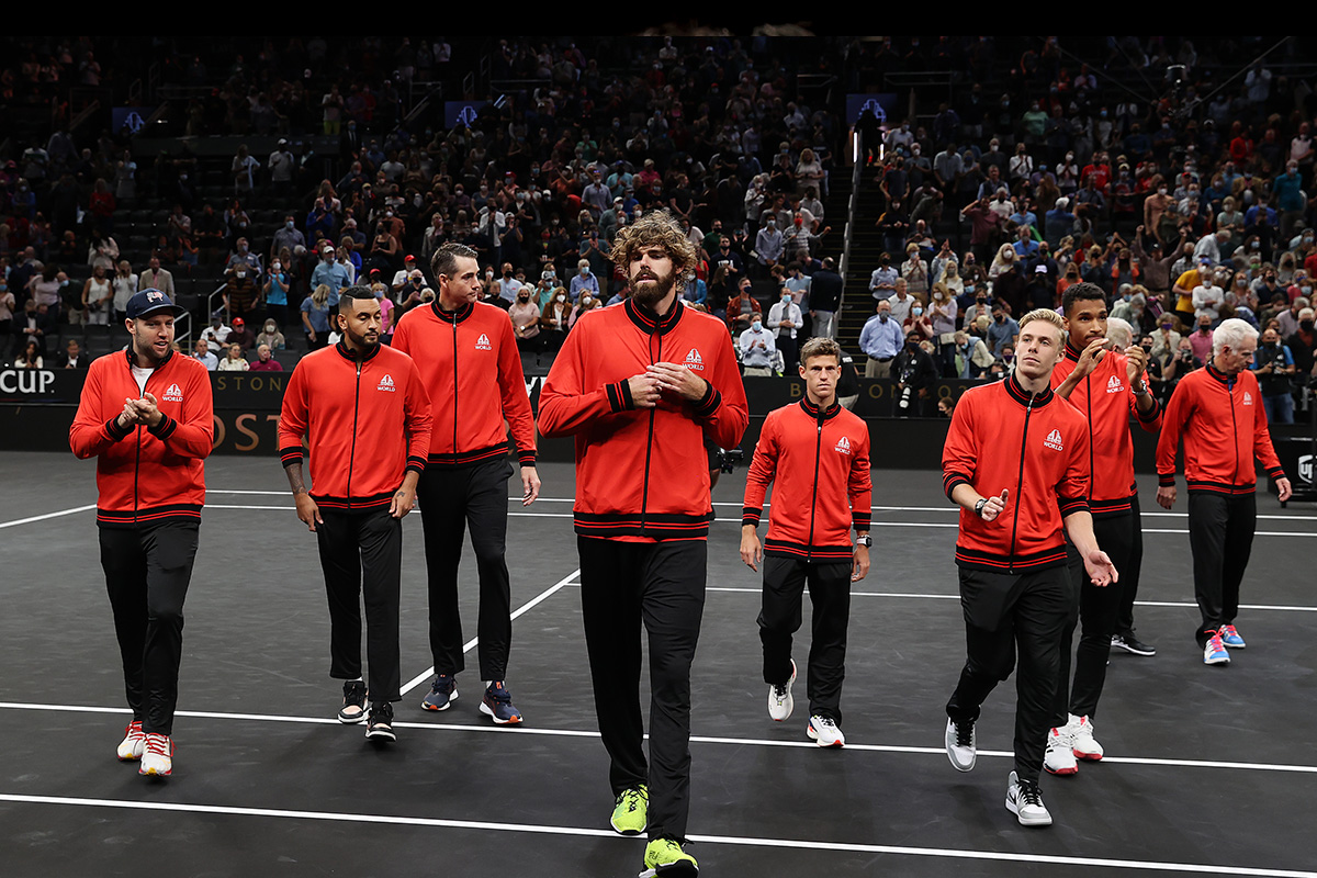 Team World seeks to Win on Day 2 of Laver Cup Tennis 2021 - 10sBalls