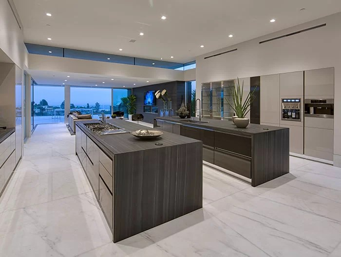 outdoor kitchens kitchen equipment list carla ridge residence: spectacular beverly hills mega ...