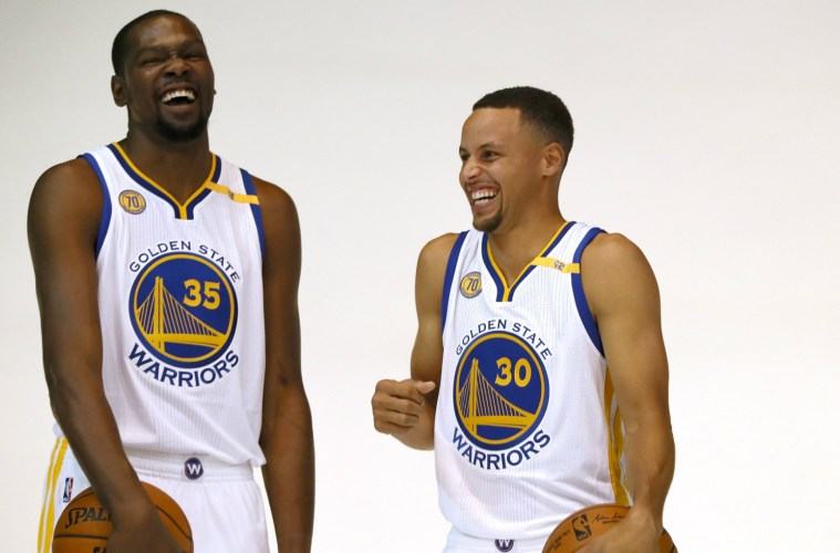 the latest 43756 b967b The Golden State Warriors just can t win. Their Lose Lose scenario for this  upcoming season