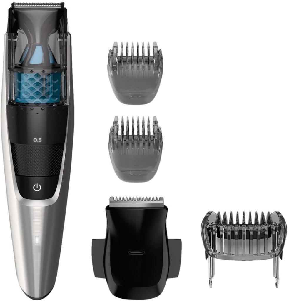 Philips Norelco Vacuum Beard Trimmer BT7215/49 Series 7200