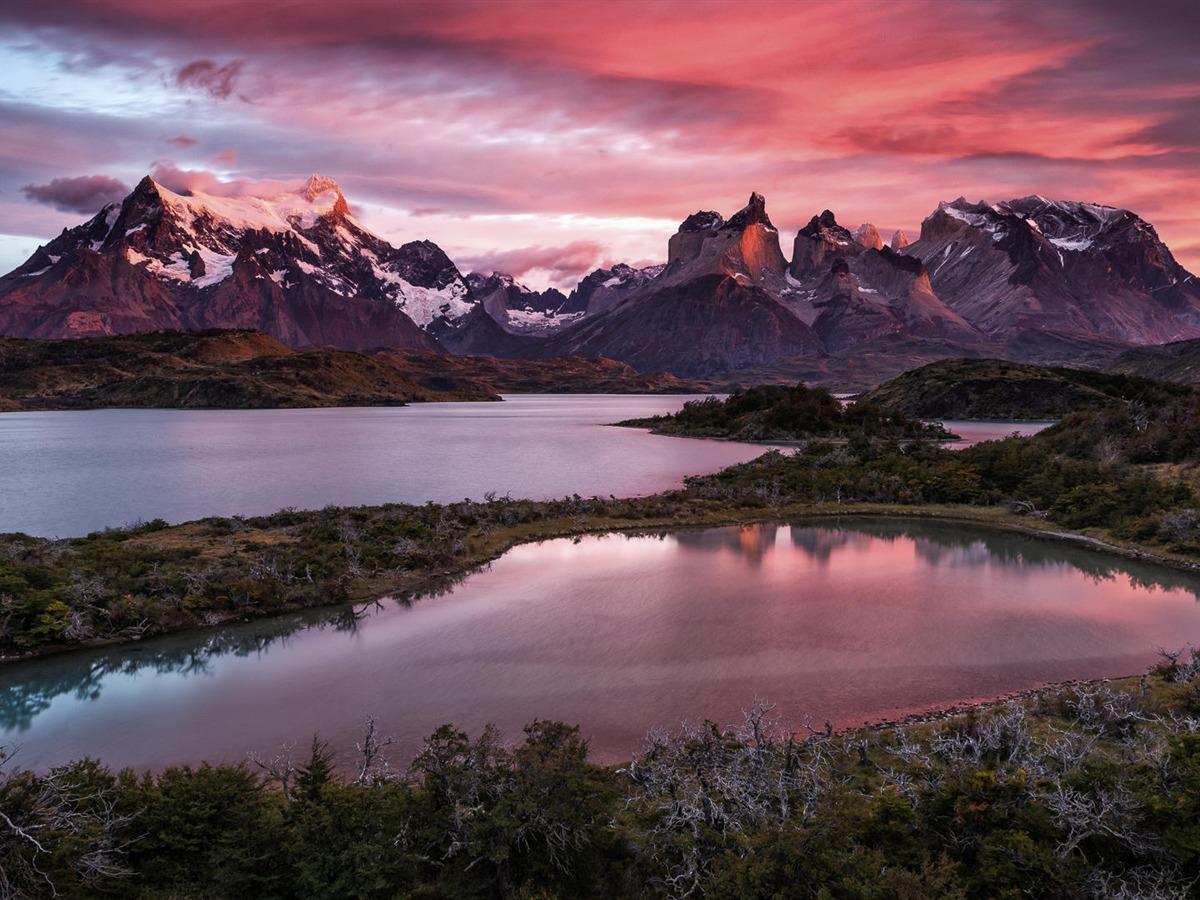 Lv Wallpaper Iphone X Lac De Montagne De Neige Windows 10 Hd Fonds D 233 Cran