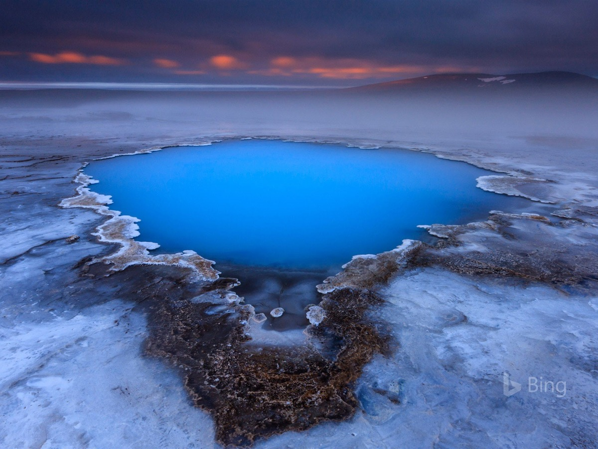Animal Computer Wallpaper Hveravellir Hot Spring On Kjolur Plateau Iceland 2017 Bing
