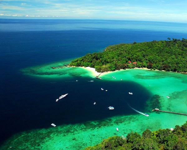 Malaysia Tun Sakaran Marine Park-2016 Bing Desktop