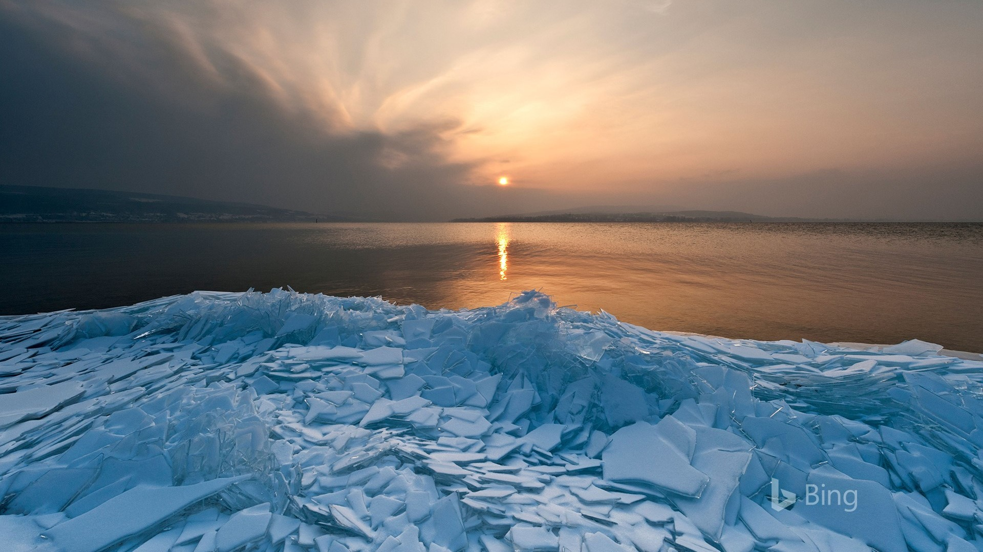 Nike Hd Wallpaper Iphone X Germany Ice Floes Lake Constance 2018 Bing Preview
