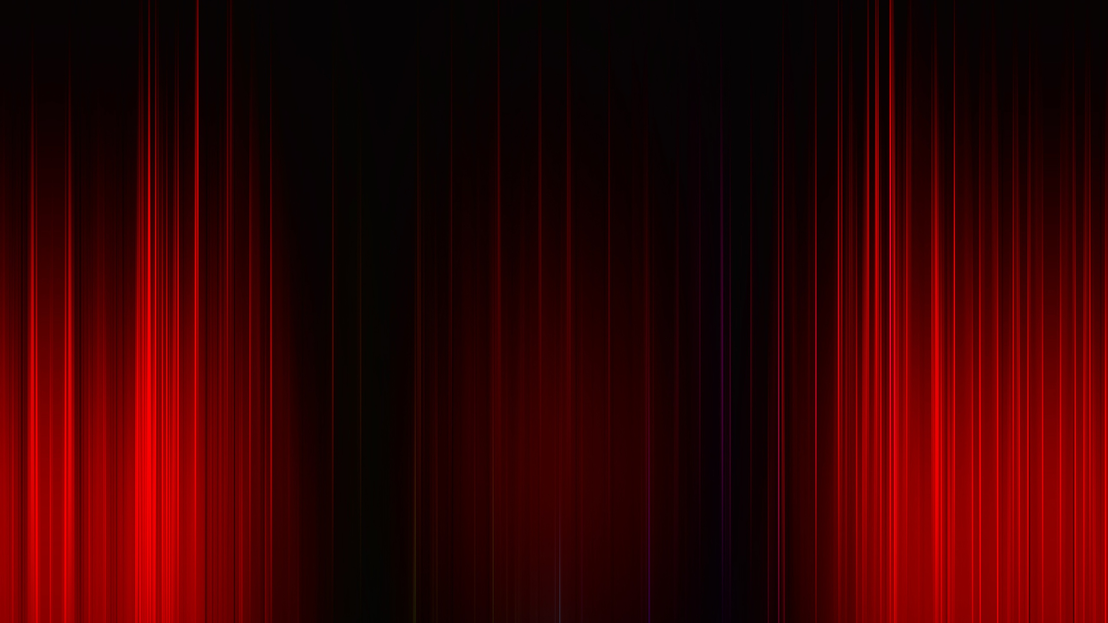 Dreamy Girl Wallpapers Red Rays Glare Abstract Black Background Preview