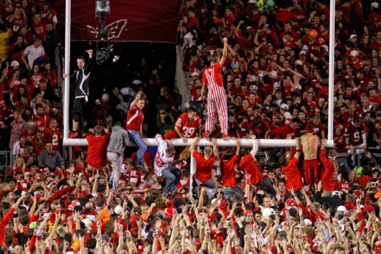 NCAA FOOTBALL: OCT 16 Ohio State at Wisconsin