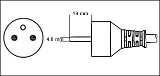 Terminate a Type E Electrical AC 16 Amps Male Power Plug