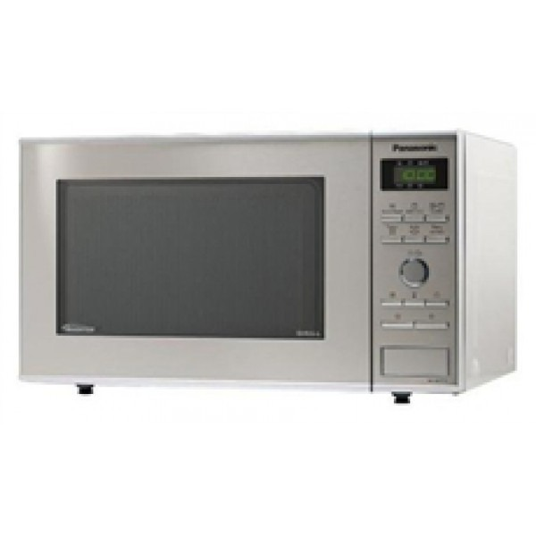 panasonic nn gd371 23 liter microwave oven with grill and inverter technology 220 volts