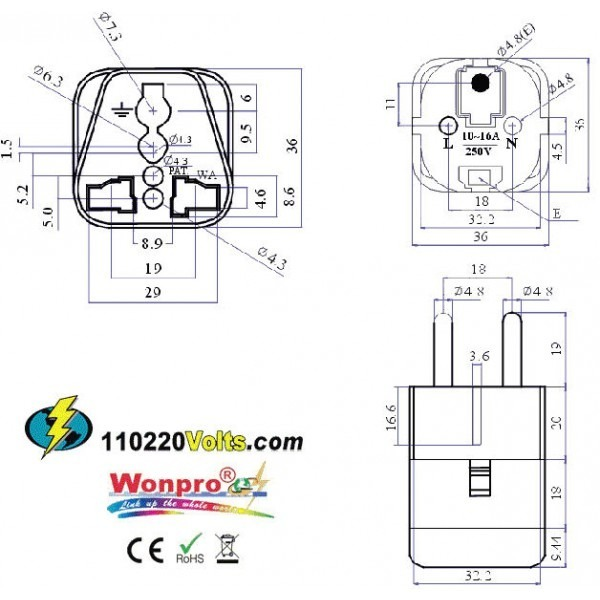 Electrical Outlet Cad Drawing
