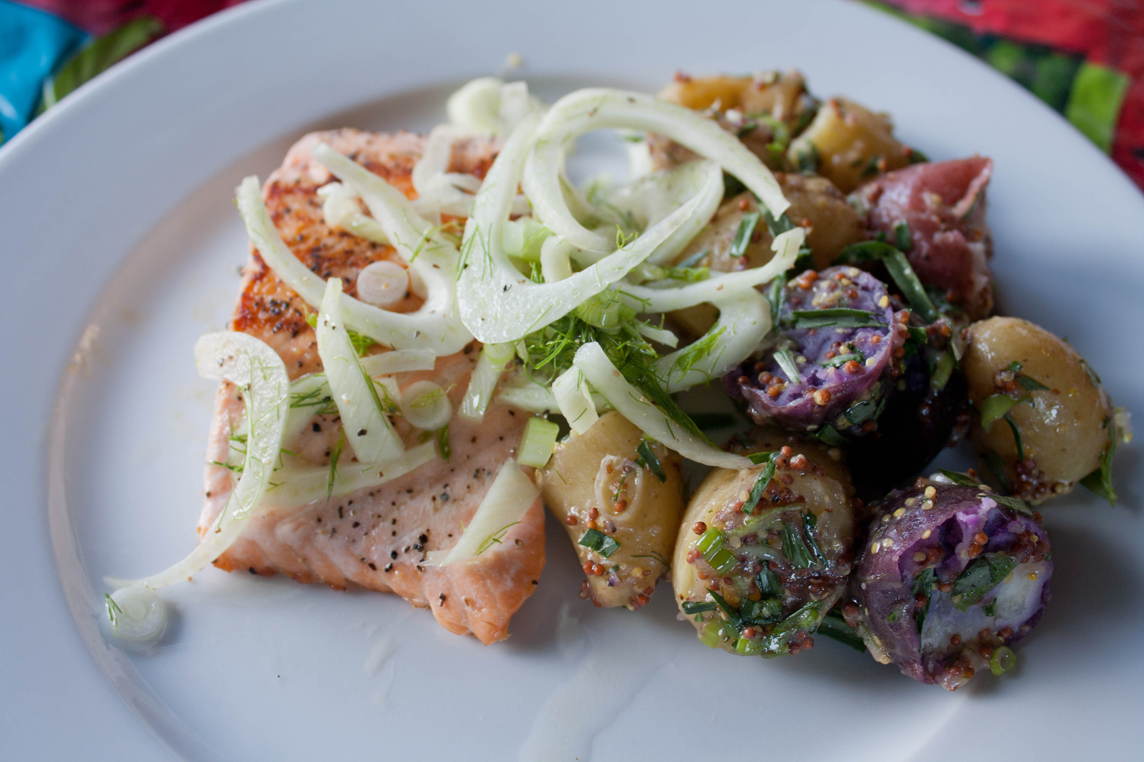 Blue apron salmon - This Was Shocking Because Historically I Hate Fennel Maybe It S Fennel Seeds I Dislike Not Sure But It S A Huge Turn Off To Me And I Was Shocked That I