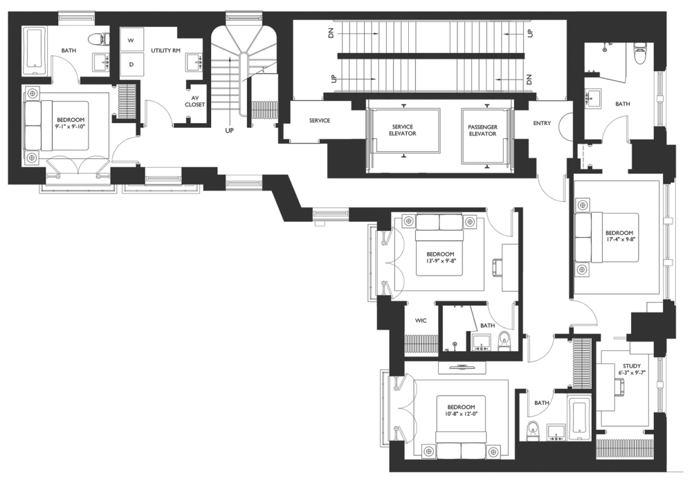 medium resolution of details throughout the residence includes ceilings up to 14 fumed oak flooring custom mahogany paneling and millwork details and pre wiring for complete