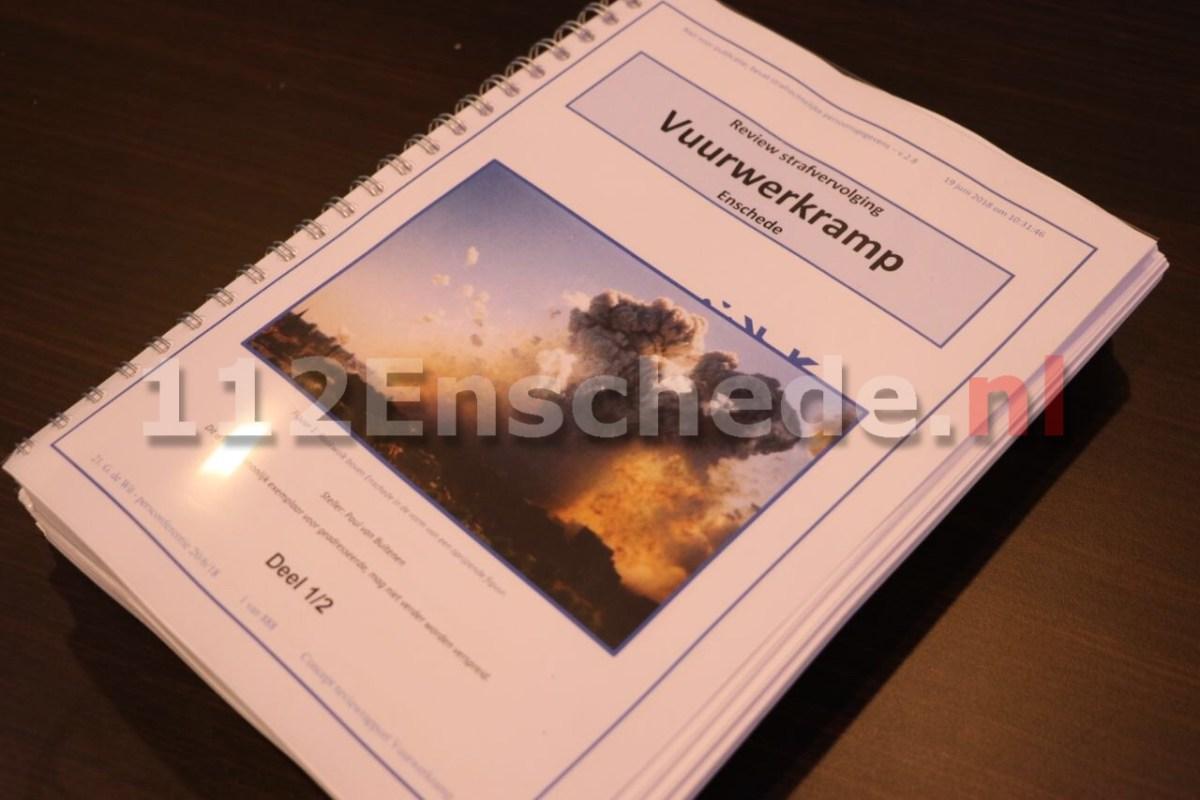 """Persconferentie Vuurwerkramp Enschede; """"De gedragingen van het Openbaar Ministerie"""""""